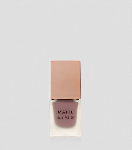 Antique Rose Matte Nail Polish | New Look