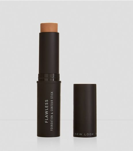 Natural Tan Flawless Foundation and Contour Stick | New Look