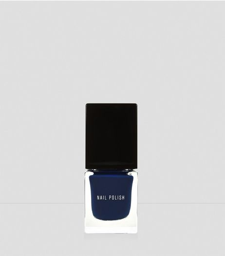 Deep Navy Nail Polish | New Look