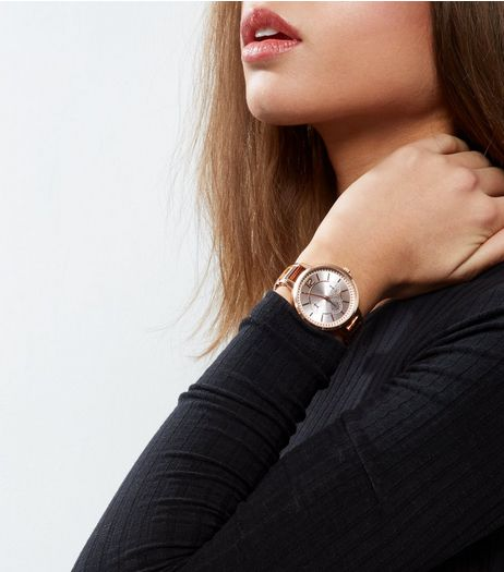 Tortoise Shell Strap Sports Watch | New Look