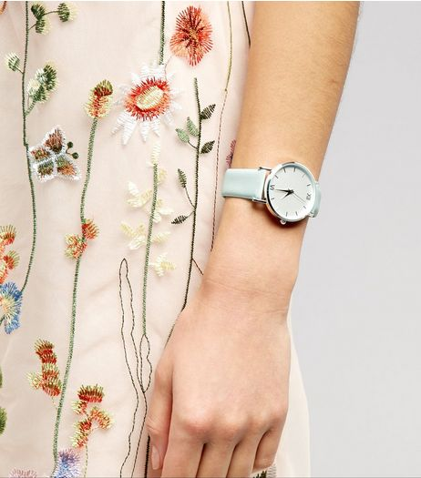 Mint Green Watch | New Look