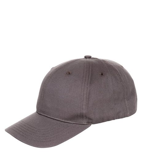 Brown Twill Cap | New Look
