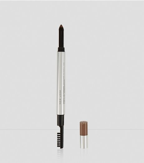 Light Brown Fill and Define Eyebrow Powder Pen | New Look