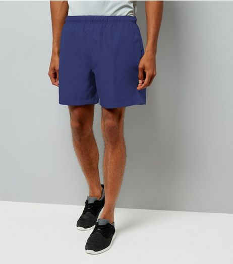 Navy Running Shorts | New Look