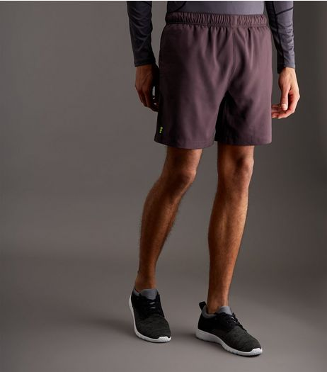 Burgundy Running Shorts | New Look