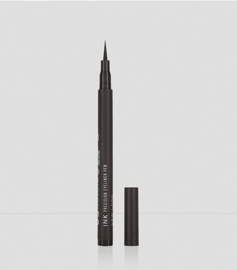 Black Ink Precision Eye Liner Pen | New Look