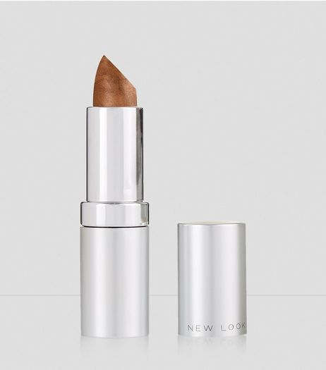 Bronze Moisturising Lipstick | New Look