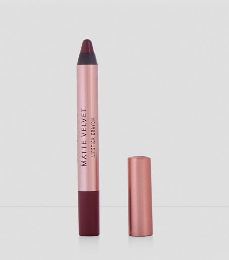 Light Purple Velvet Matte Lipstick Crayon  | New Look