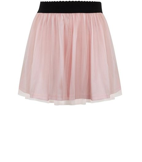 Girls Pink Layered Tulle Skirt  | New Look