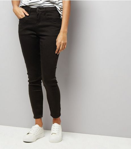 Petite Black Super Soft Super Skinny India Jeans | New Look