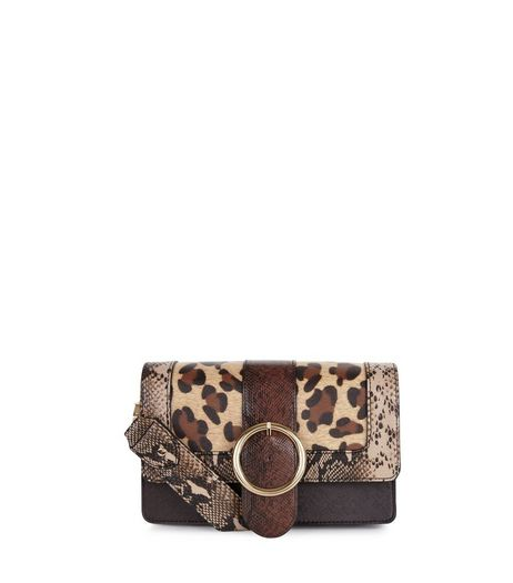 Brown Leopard Print Cross Body Bag | New Look