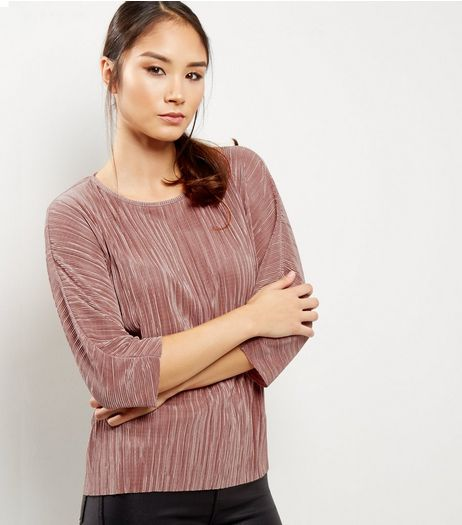 Pink Batwing Top | New Look