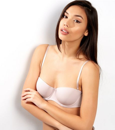 Mid Pink Strapless Bra  | New Look