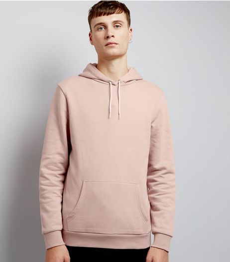 Pink Pocket Front Hoodie | New Look