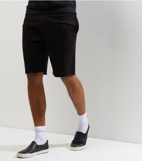 Black Pique Shorts | New Look