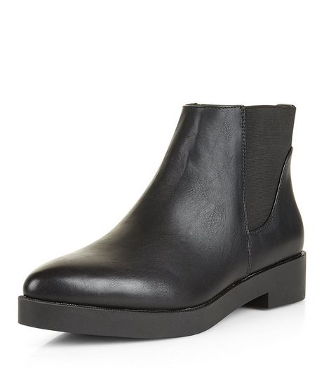 Teens Black Chelsea Boots | New Look