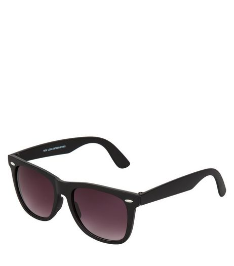 Black Retro Sunglasses | New Look