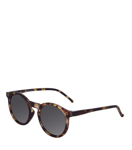 Brown Tortoiseshell Retro Sunglasses | New Look