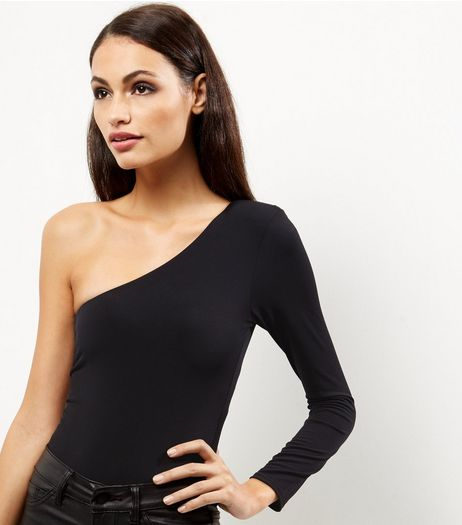 Black Off the Shoulder Bodysuit  | New Look