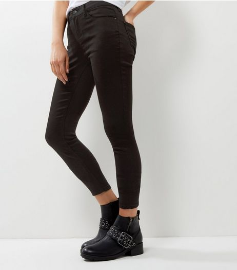 Tall Black Super Soft Super Skinny India Jeans | New Look