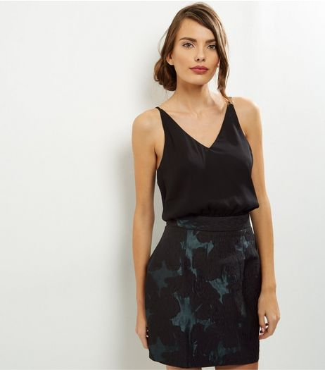 AX Paris Black 2 in 1 V Neck Dress | New Look