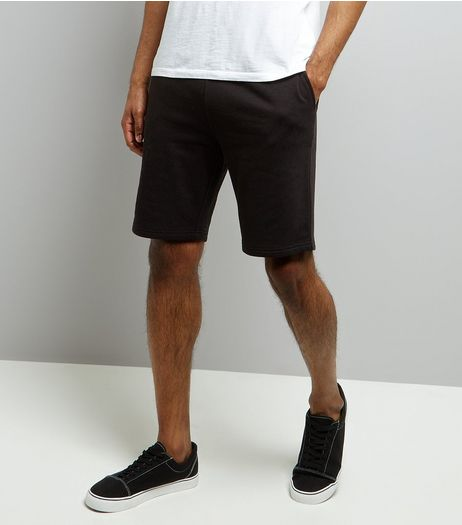Black Basic Jersey Shorts | New Look
