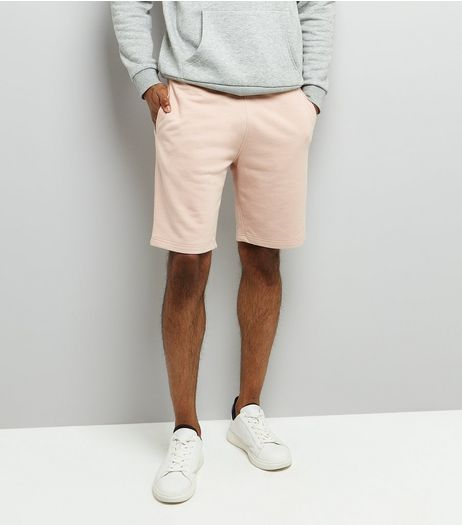 Pink Basic Jersey Shorts | New Look