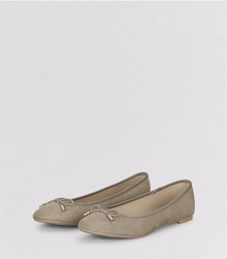 Light Brown Ballet Pumps  | New Look