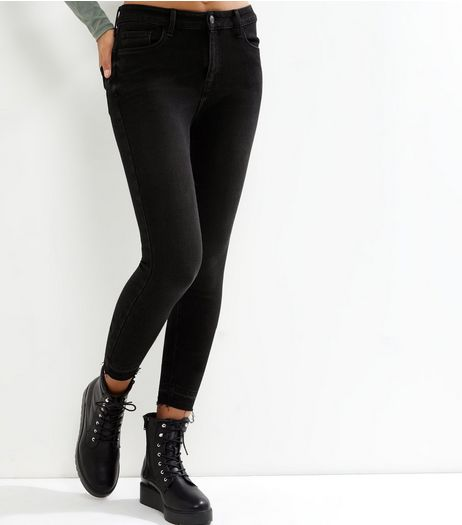 Black Shaper Skinny Jeans  | New Look