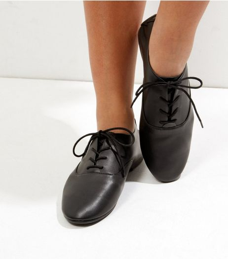 Black Lace Up Pumps | New Look