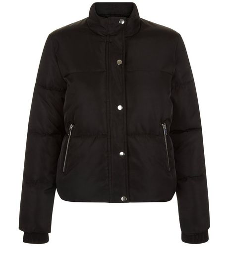 Teens Black Puffer Jacket | New Look