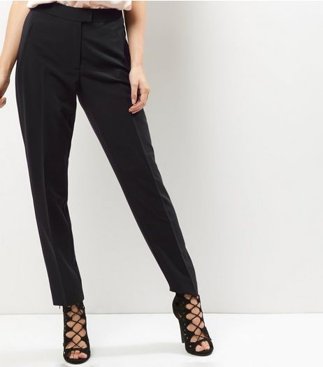 Black Slim Leg Suit Trousers  | New Look