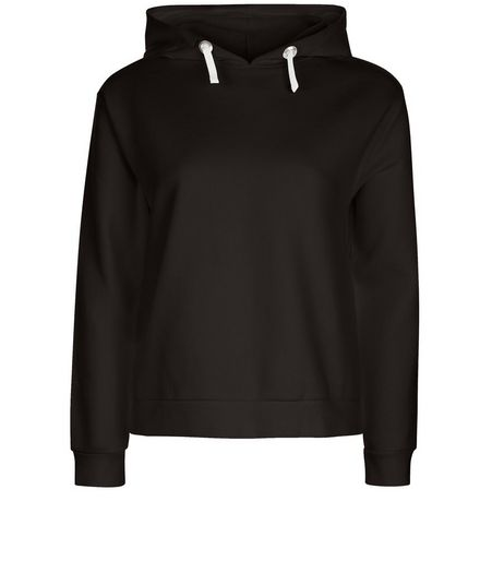 Teens Black Long Sleeve Hoody | New Look