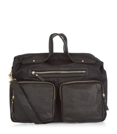 Black Sports Bag  | New Look