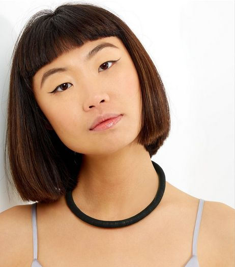 Black Spring Choker | New Look