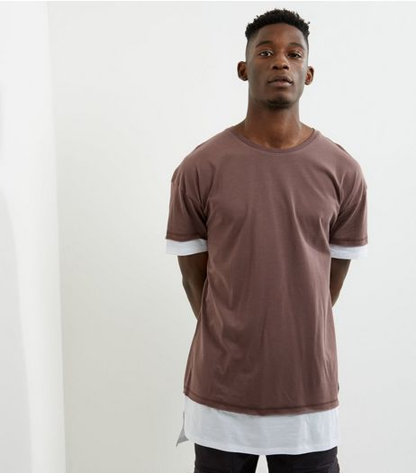 Purple Layered Longline T-shirt | New Look