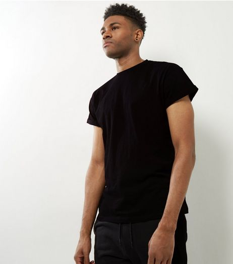 Black Cotton Short Sleeve T-Shirt | New Look