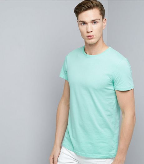 Mint Green Crew Neck T-Shirt | New Look