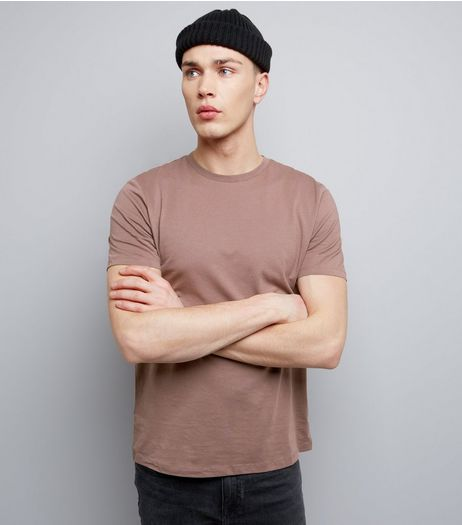 Light Purple Cotton Crew Neck T-Shirt | New Look