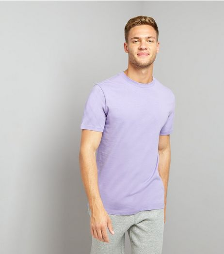 Lilac Crew Neck T-Shirt | New Look