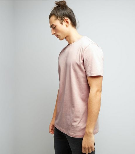 Pink Cotton Crew Neck T-Shirt | New Look