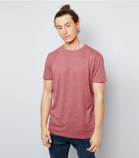 Orange Cotton Crew Neck T-Shirt | New Look