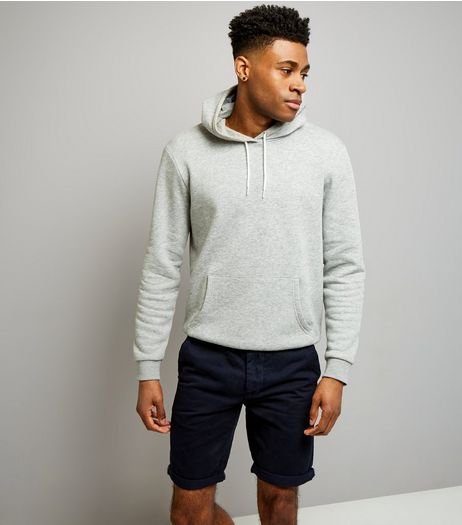 Navy Slim Leg Chino Shorts | New Look