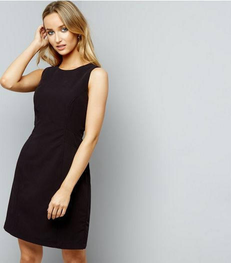 Black Suit Dress | New Look