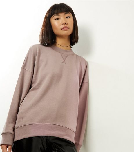 Mink Balloon Sleeve Sweater | New Look