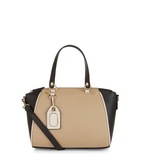 Camel Mini Bowler Bag | New Look
