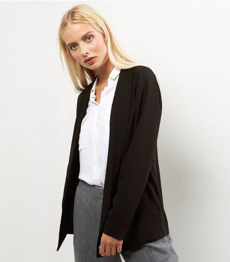 Black Soft Blazer  | New Look