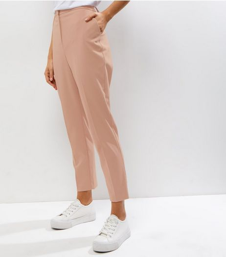 Mink Slim Leg Trousers | New Look