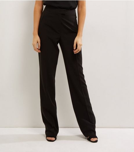 Tall Black Bootcut Suit Trousers | New Look