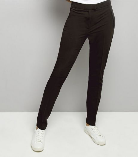 Tall Black Slim Leg Suit Trousers | New Look